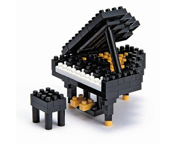 Nanoblock Piano à queue Noir