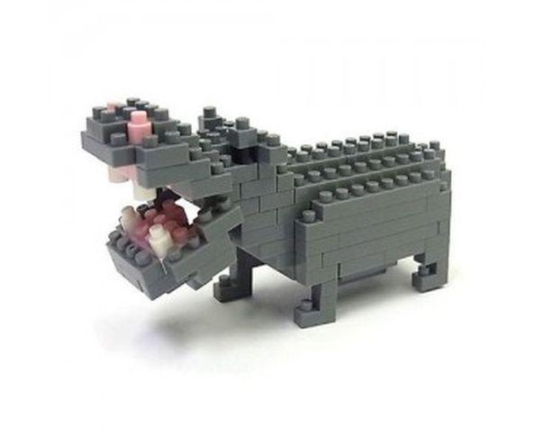 Nanoblock Hippopotame