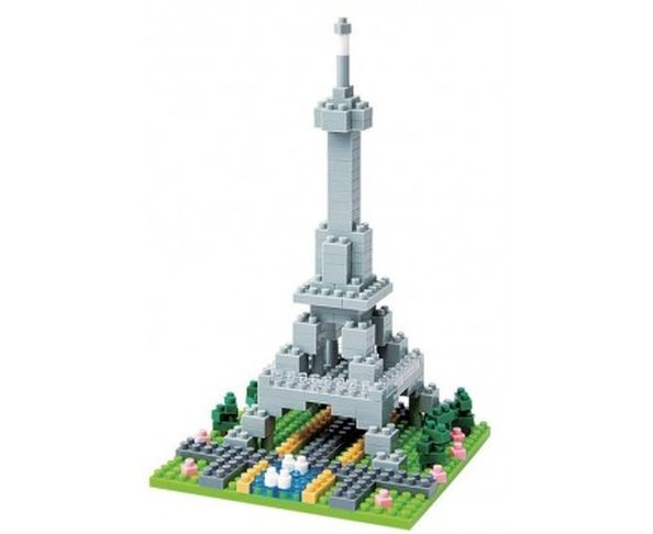 Nanoblock Monument Rives de la Seine à Paris
