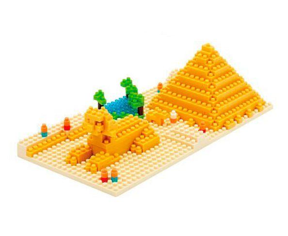 Nanoblock Monument Grande Pyramide de Gizeh