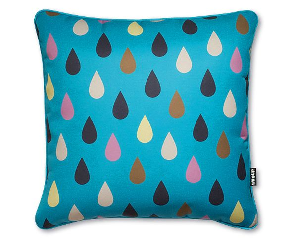 Coussin Gotas Turquoise - Woouf