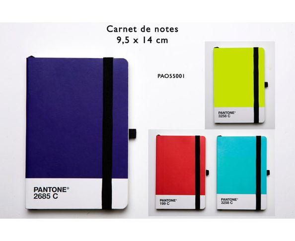 Carnet de note Pantone
