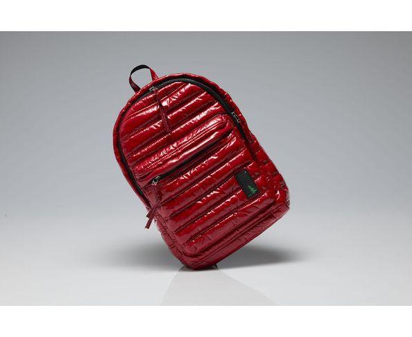 Sac à dos doudoune Crimson Red Rotorua 01 - Mueslii