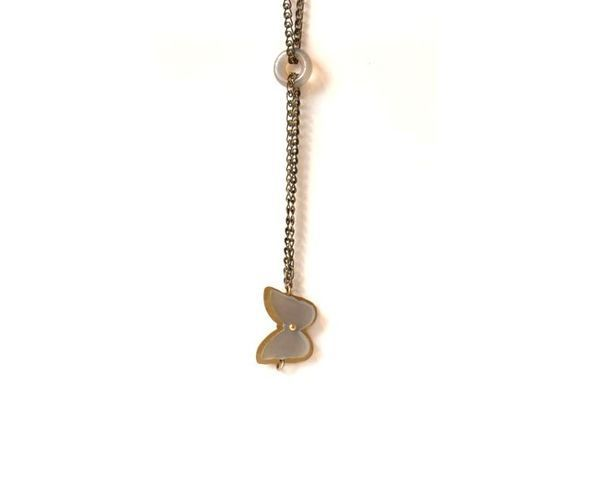 """Bracelet """"Papillon double chaîne"""""""