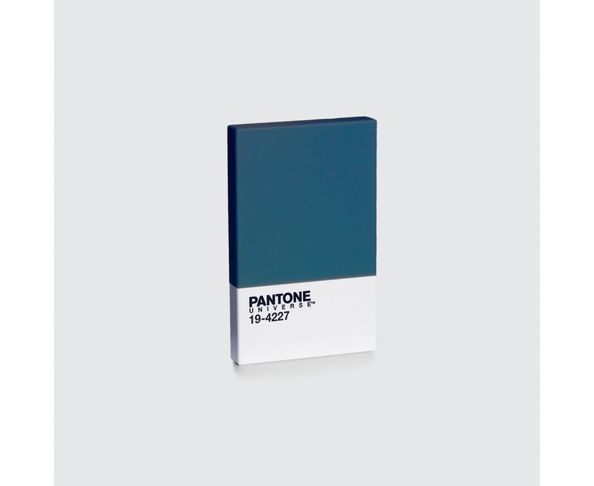 Porte Carte De Visite Et Credit Pantone Indian Teal