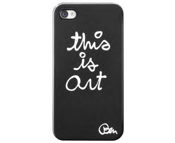 Coque iPhone 4/4S Ben This is art