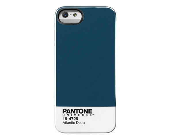 "Coque Pantone Iphone 5 "" Atlantic Deep"""
