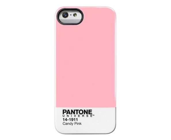 "Coque Pantone iPhone 5 ""Candy Pink"""