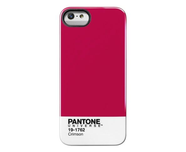"Coque Pantone Universe Iphone 5 ""Crimson"""