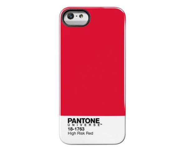 "Coque Pantone iPhone 5 Cover ""High Risk Red"""