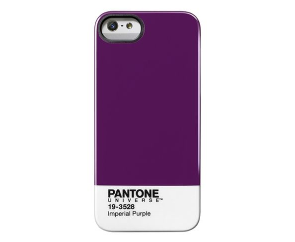 "Coque Pantone Iphone 5 ""Imperial Purple"""
