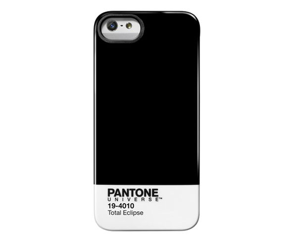 "Coque Pantone Iphone 5 ""Total Eclipse"""