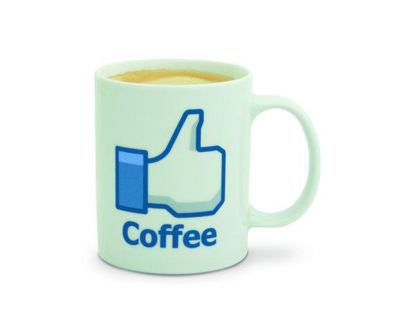 """Mug à café  """"Facebook"""""""