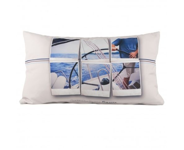 Coussin Skipper Club - 40x68 cm - Coast and Valley