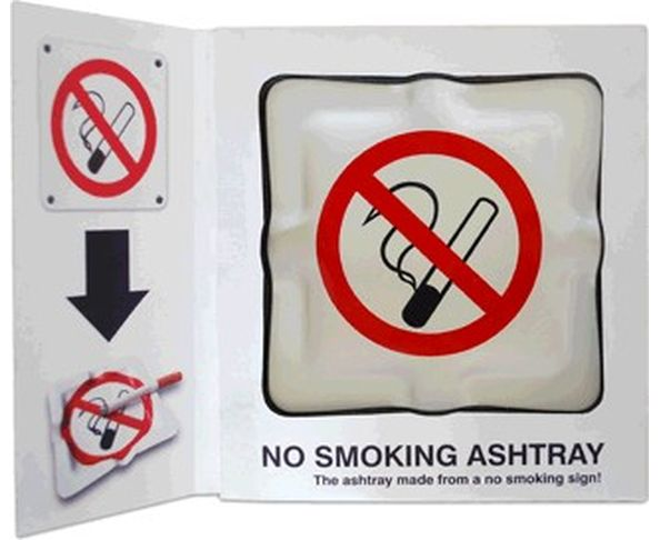 Cendrier No Smoking