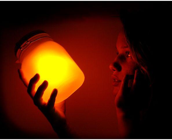 Pot de soleil (bocal lumineux)