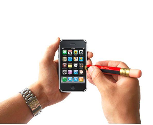 Stylet crayon à papier pour écran tactile