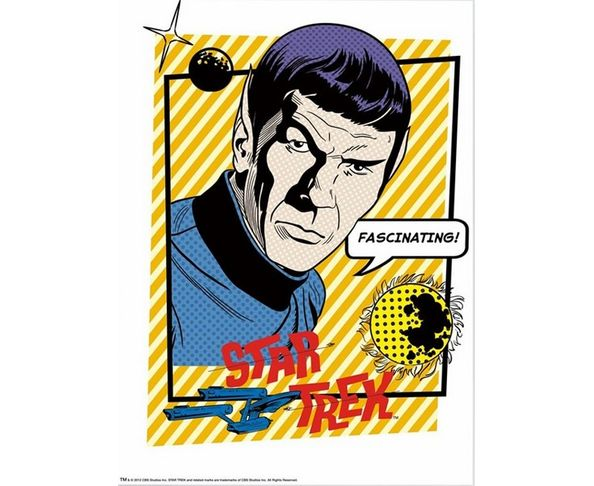 PLUS DISPO - Affiche Star Trek - Fascinating  - Tirage argentique - Image Republic