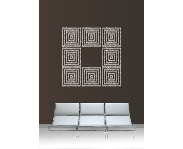 Sticker mural en strass Central - Atmostyl