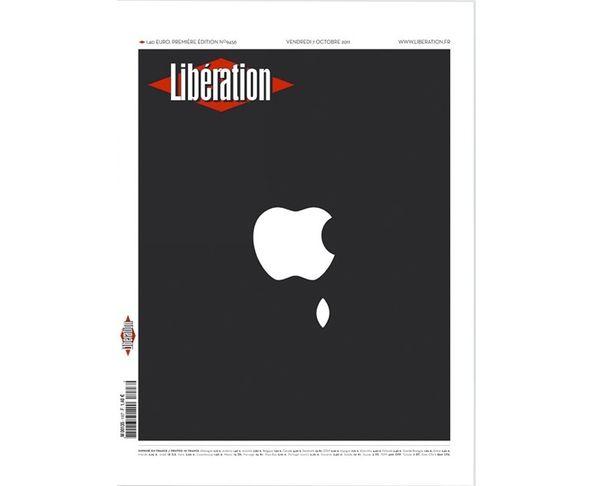 Affiche Libération - Apple  - Tirage argentique - Image Republic