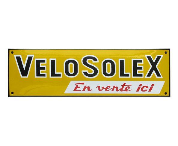 Vélosolex - Plaque émaillée au pochoir