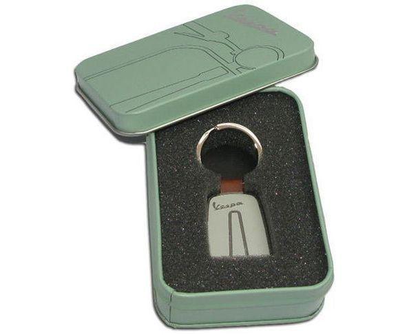 Porte-clefs VESPA gris