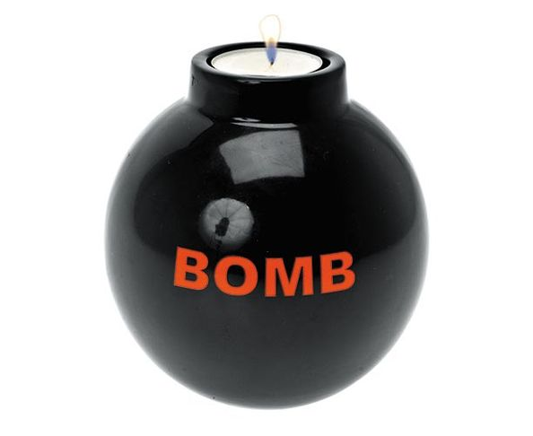 Bougeoir Bombe