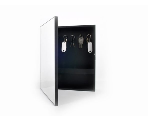 Armoire cl s keywest medium white xl boom sur deco and me for Miroir xl boom