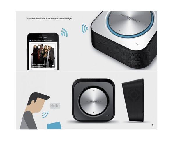 Enceinte Bluetooth Punchbox - Xoopar