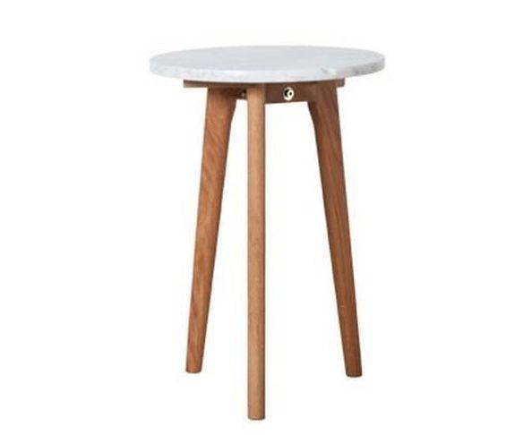 Table basse Stone blanche S