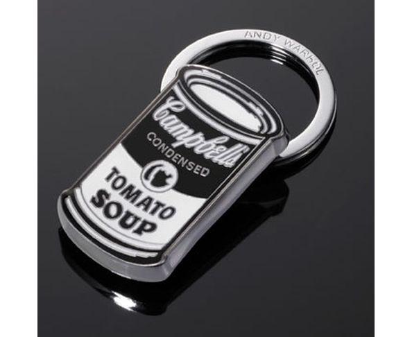 Porte-clé CAMPBELL`S SOUP CAN d'Andy Warhol de Troika