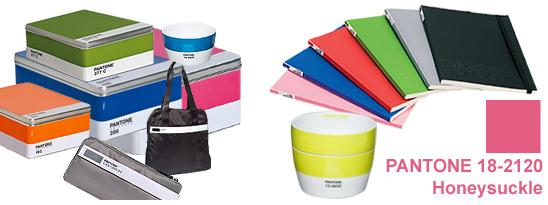 Collection Pantone, boite, sac, chaises, carnet de note,bol...