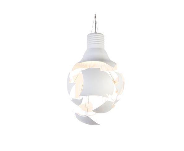 lustre-deco et original en forme d'ampoule éclatée