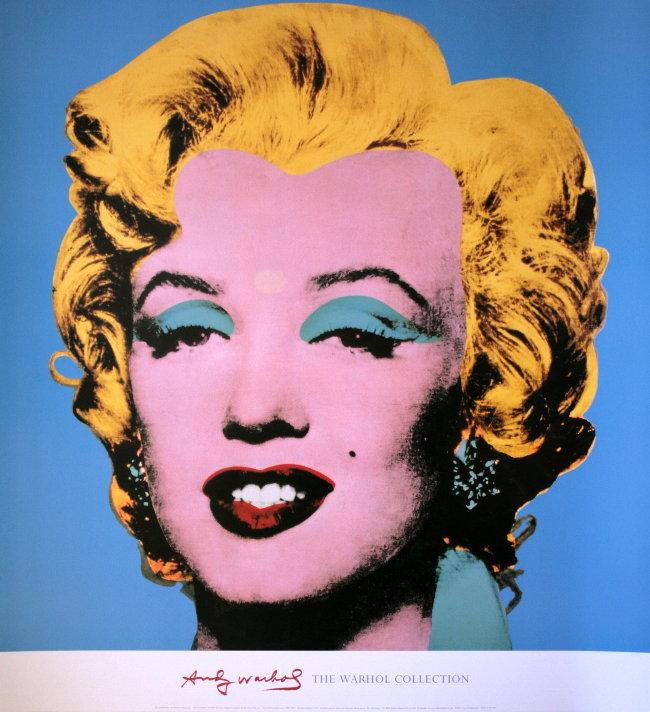 Marilyn Monroe, immotalisée par Warhol